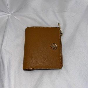 The Robinson Mini Wallet in Cardamom (Camel)